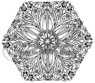 Deco Hexagon