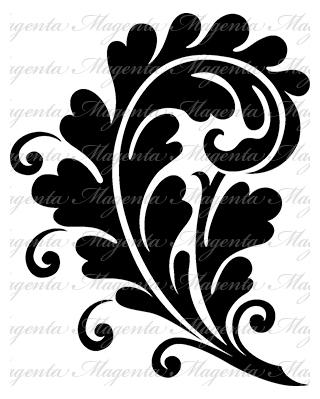 Rococo Swirl - Large